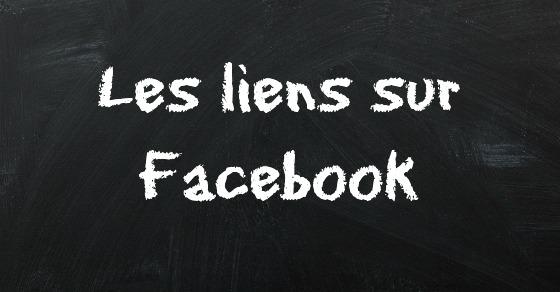 le liens sur Facebook