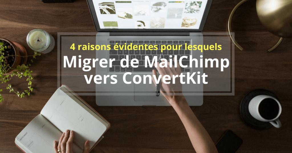 MailChimp comparatif ConvertKit